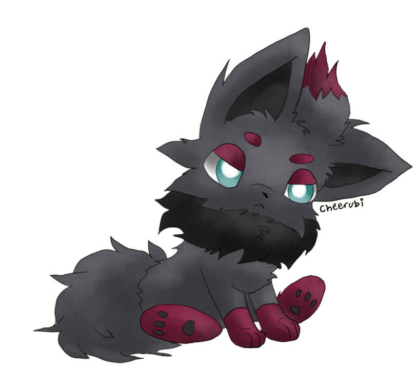Zorua by falvie on DeviantArt