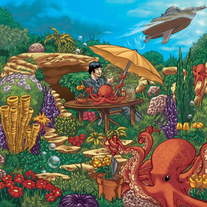 Octopus Garden By Bigjackstudio On Deviantart