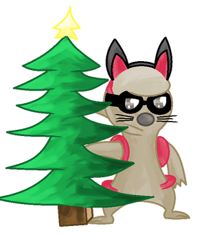 He wanted to be a christmas tree ~ collab