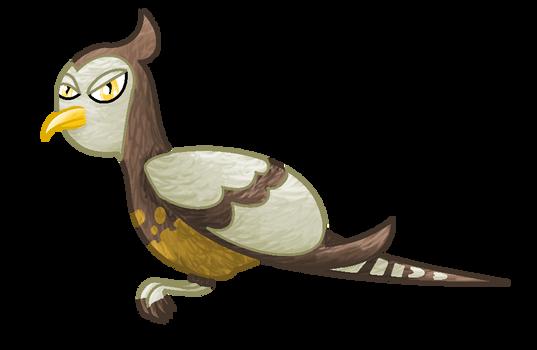 Unfezant shiny female ~ flying colla by GlitzerKirby