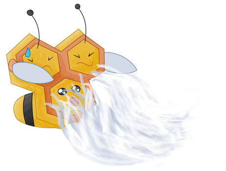 Combee using Gust