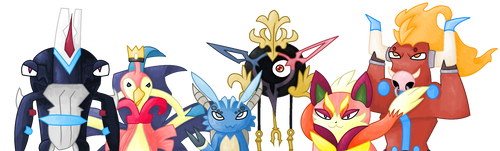 My Nexomon Team