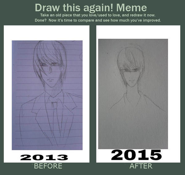 how to draw light yagami