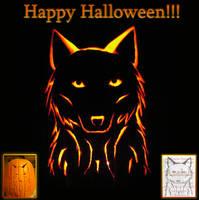 Happy Halloween Pumpkin Time by Azelah