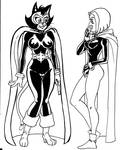 Raven and Alley Kat Abra