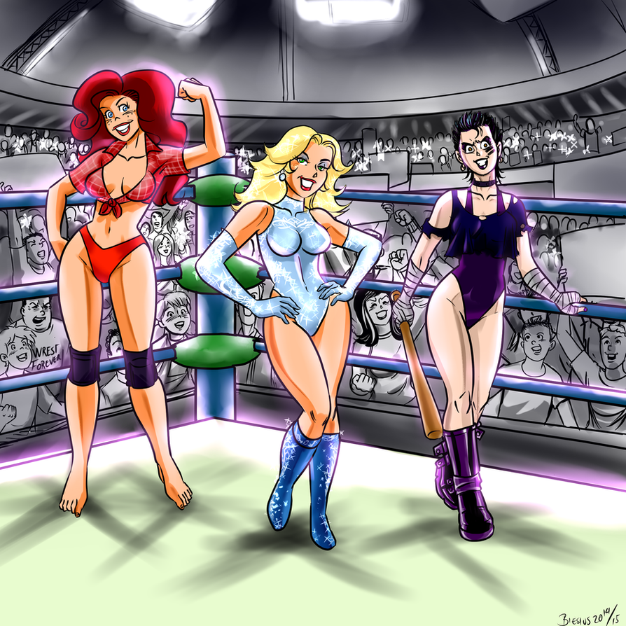 Rowdy Angels ppv by biesiuss