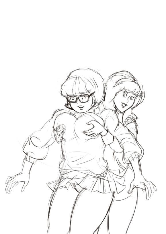 Heavy ones Velma by biesiuss
