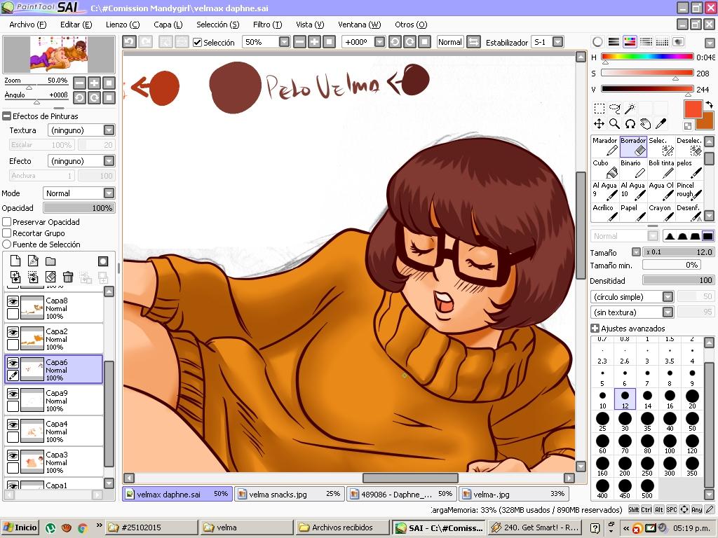 Daphne resolves Velma moist mistery by biesiuss