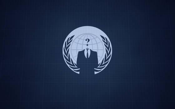 Anonymous Blueprint Wallpaper