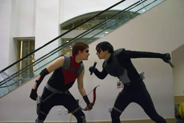 Nightwing vs Red Arrow 4