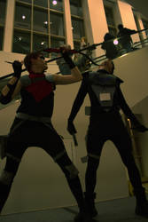 Nightwing vs Red Arrow 1