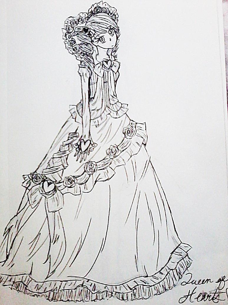Alice in Wonderland- Queen of Hearts by ichigiri on DeviantArt