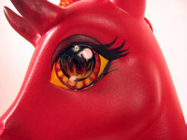 Devil's Heart, close-up