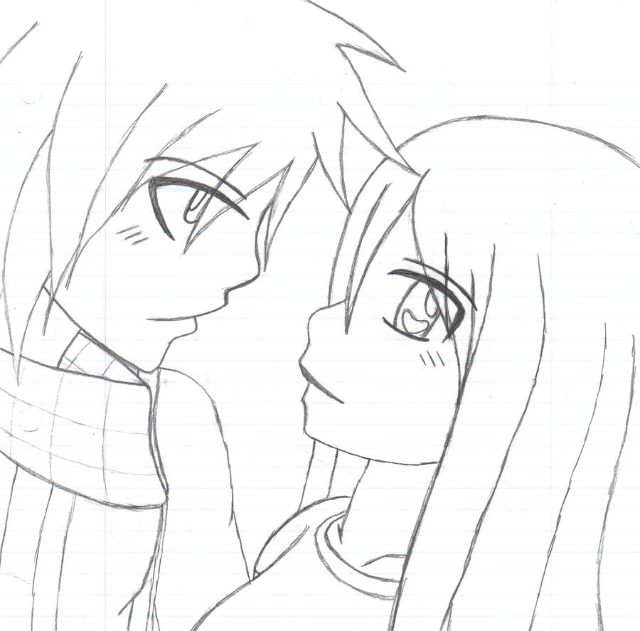 dessin de manga fille meilleure amie
