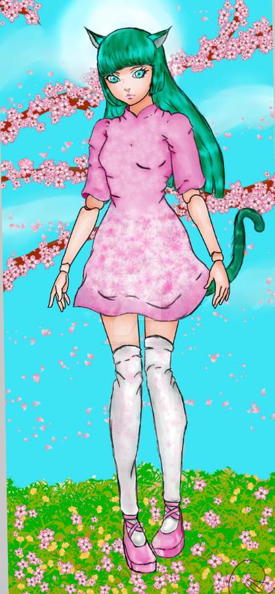New Oc::Ahiru rose by hetaliagirl101
