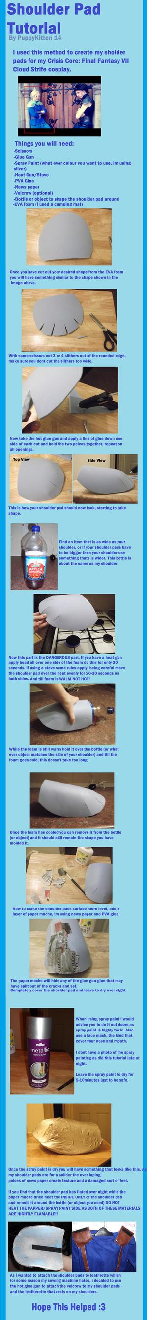 Shoulder Pad Tutorial by BluePandaCosplay