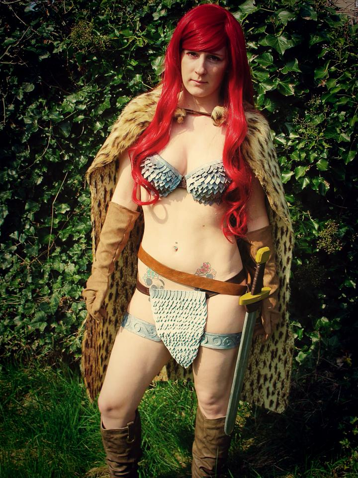 Red Sonja The Fearless by BluePandaCosplay