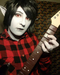 Marshall Lee - Oh! Forgive me. Hello, your majesty by BluePandaCosplay