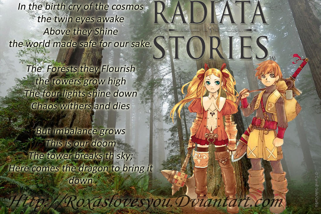 Radiata Stories By Roxaslovesyou