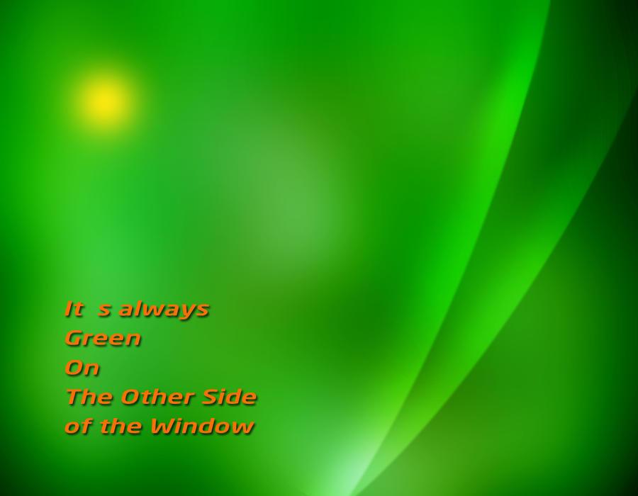 Green Window by KOOLKUL