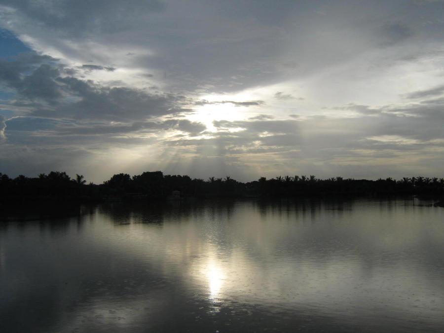 Dusk at Shegaon by KOOLKUL