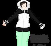 CalgaryCosplay Panda Hoodie! by PotassiumK