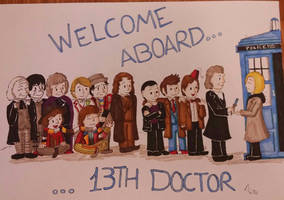 Welcome, 13th Doctor! by Azulona
