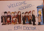 Welcome, 13th Doctor!