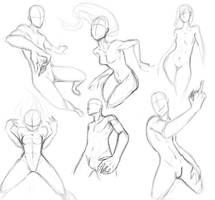 Poses by Mrakobulka