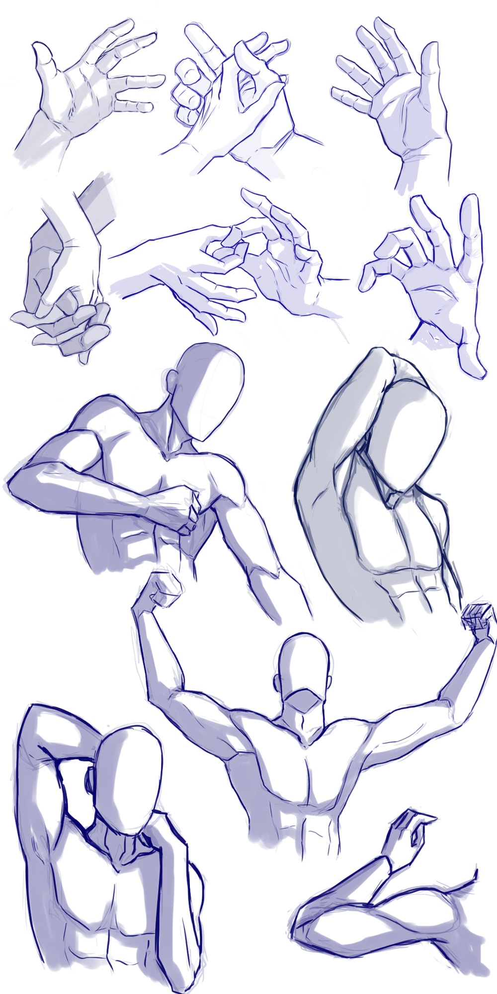 Hands and arms practice by Mrakobulka
