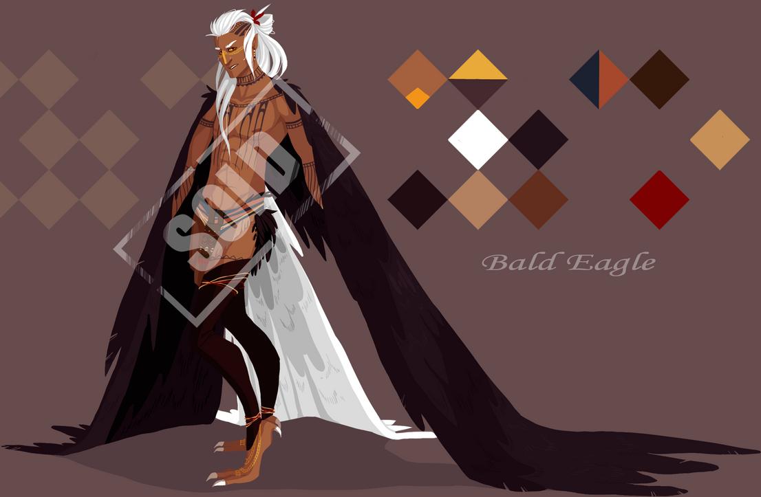 Bald Eagle Harpy Adoptable (CLOSED) by Mrakobulka