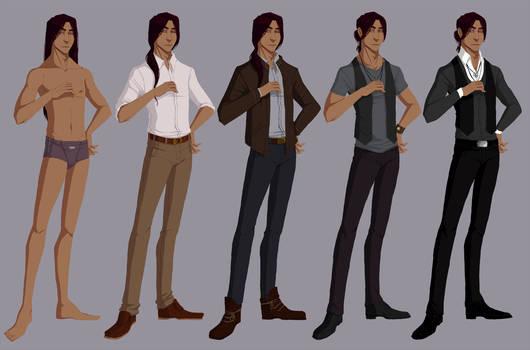 Alisher's clothing reference