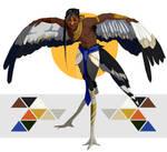 Secretary Bird Harpy (CLOSED)