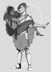 Commission For Sir-Elidyr by Mrakobulka