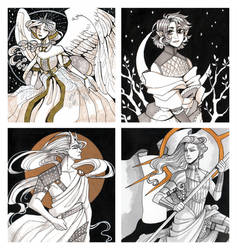 Limited Edition Inktober Commissions