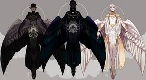 Corvidae Harpy Adoptables P2 (CLOSED)