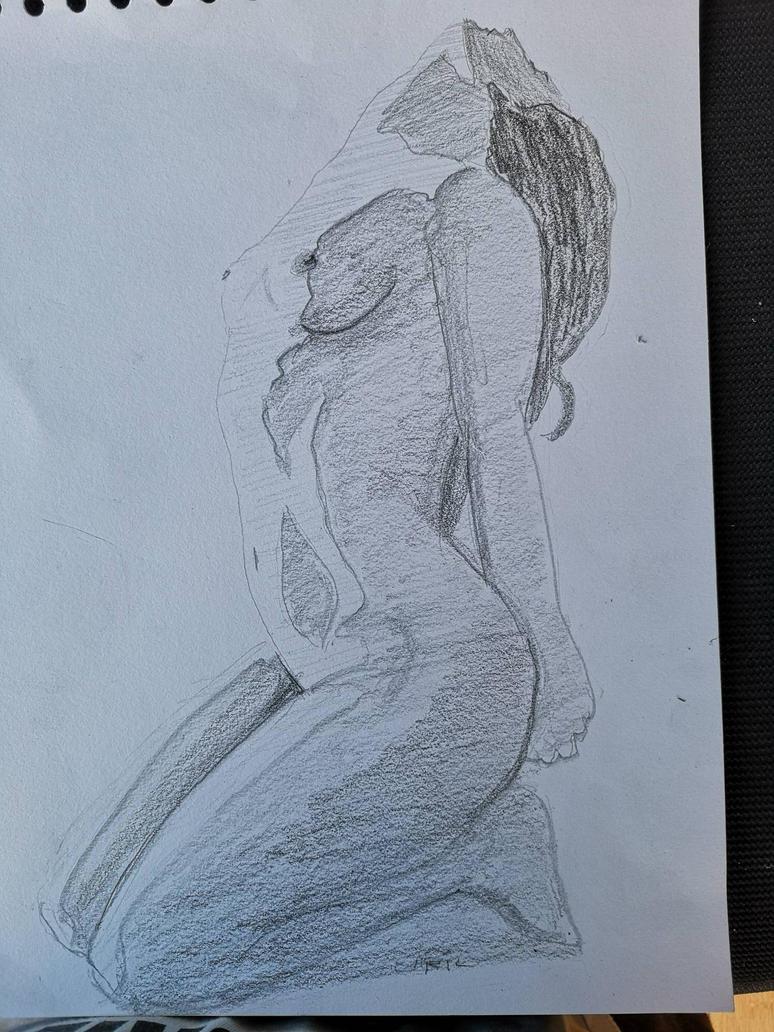 yoga by Larilsportndraw