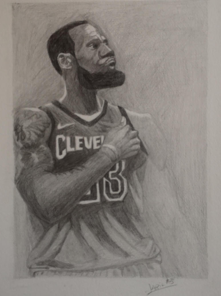 Lebron James  by Larilsportndraw