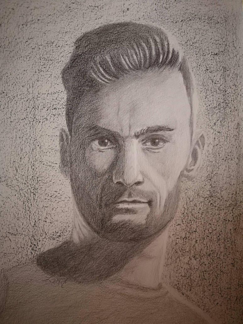 Hugo Lloris  by Larilsportndraw