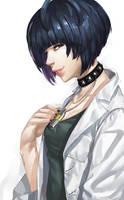 Persona 5 - Tae Takemi by blazpu
