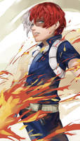 Boku no Hero Academia - Shouto Todoroki