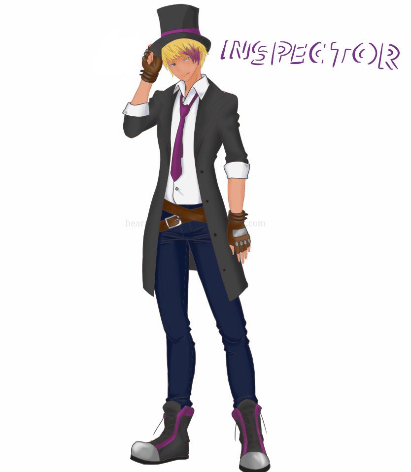 Vlad Alt Costume - Inspector by NaijMizuho