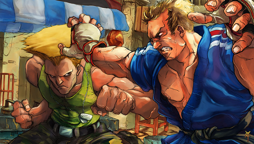 SF IV: Guile vs. Abel by TheRagingSpaniard