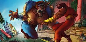 SSF IV: T-Hawk vs Guy