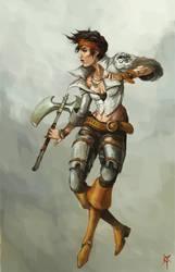 Asha Greyjoy by TheRagingSpaniard