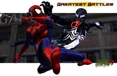 Spider-Man vs. Venom by TwistedAddiction3D