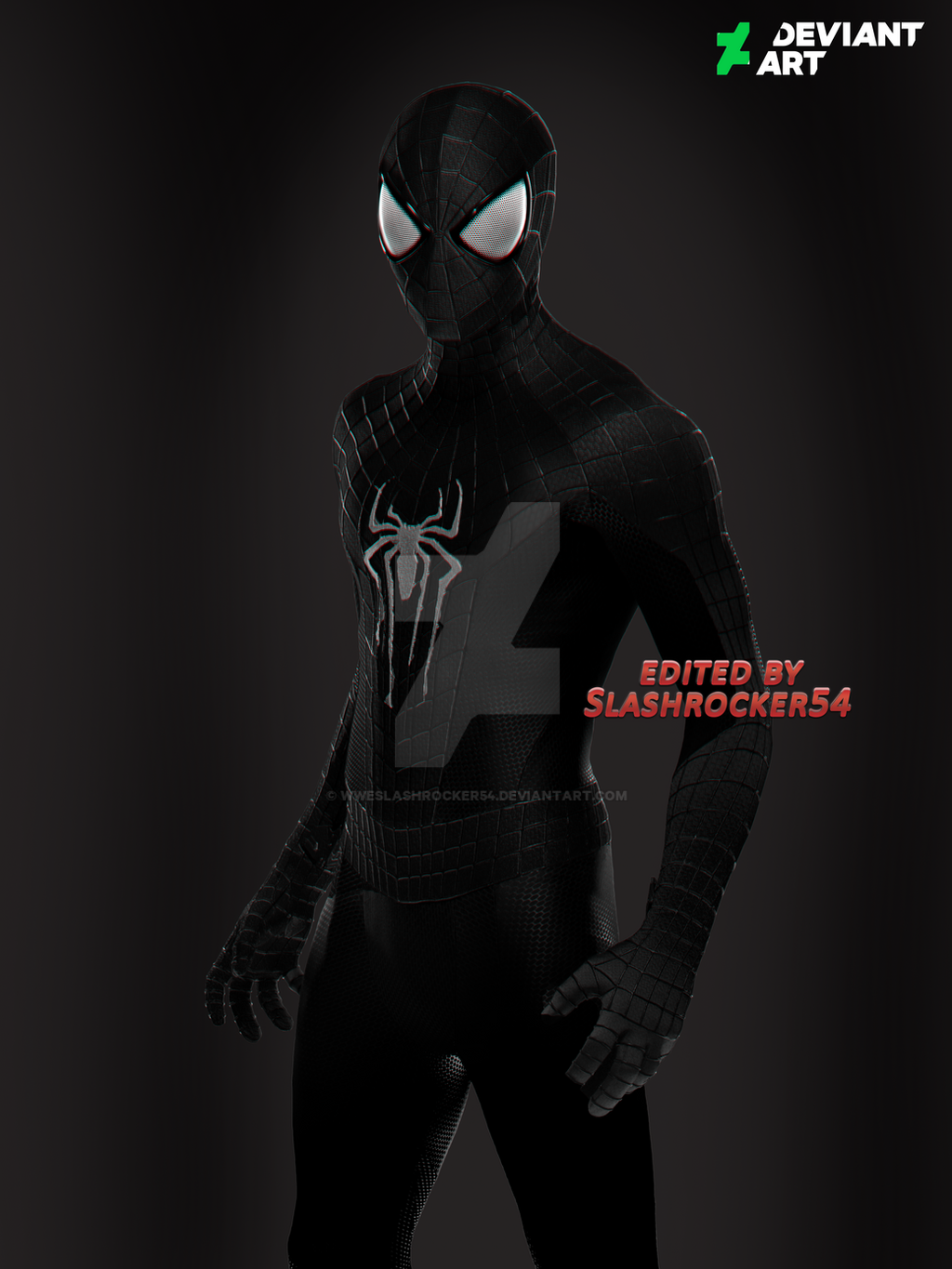 The Amazing Spider Man Black Suit Drawing