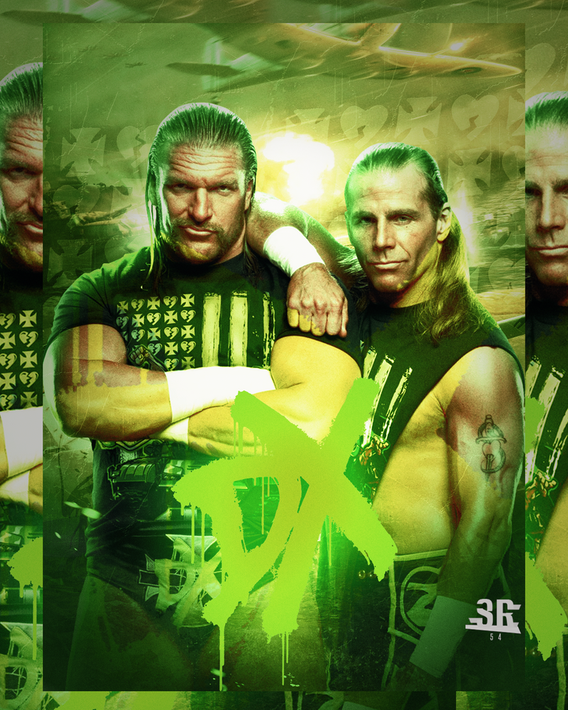 Dx Wallpaper: Triple H And Shawn Michaels