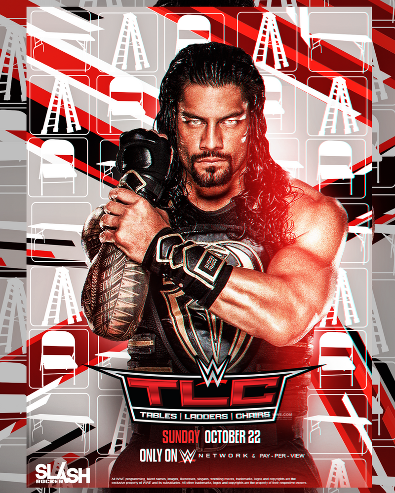 WWE TLC 2017 Poster by WWESlashrocker54