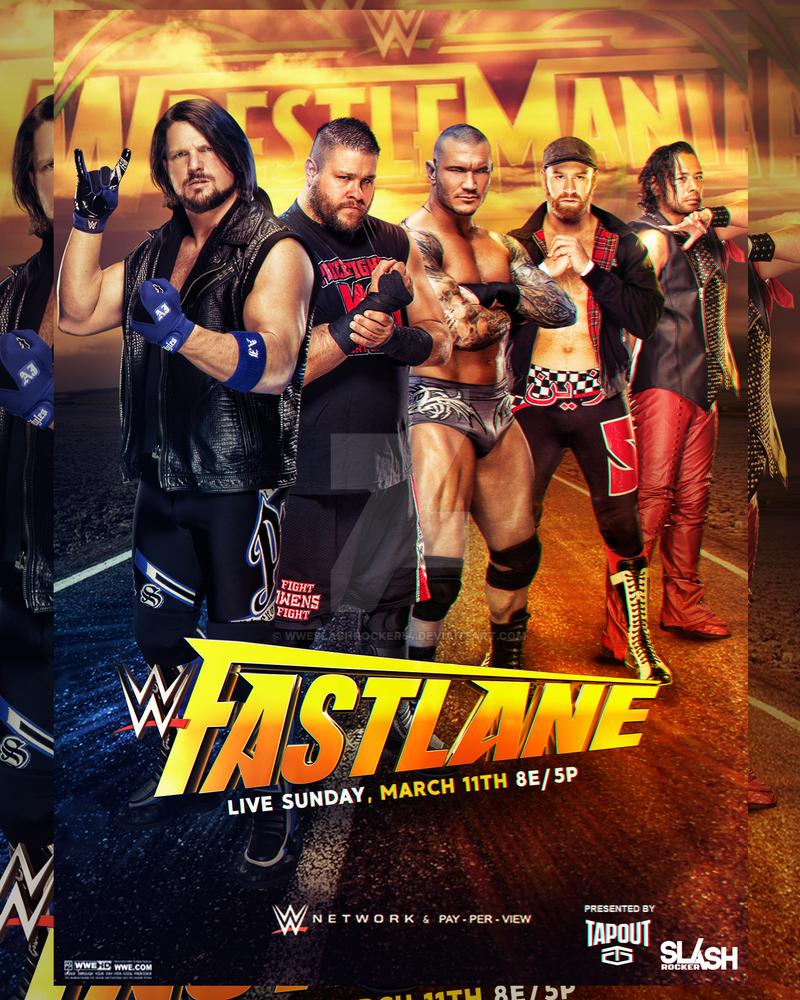 WWE Fastlane 2018 Poster by WWESlashrocker54 on DeviantArt